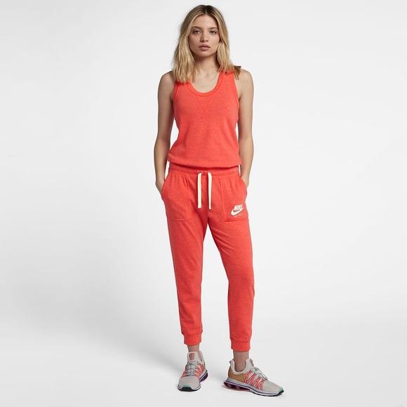 feda3daf29e Nike Sportswear Gym Vintage Jumpsuit Coral Size M